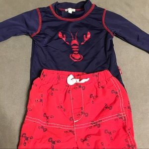 Le Top Lobster Bathing Suit